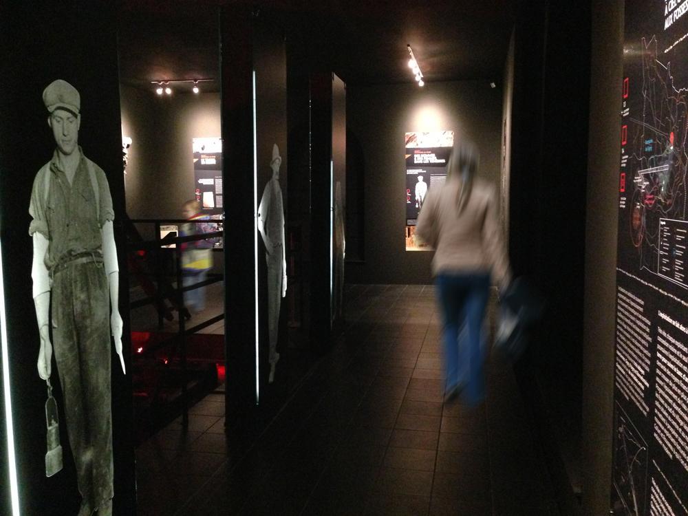 Signalétique musée de l'ardoise rimogne