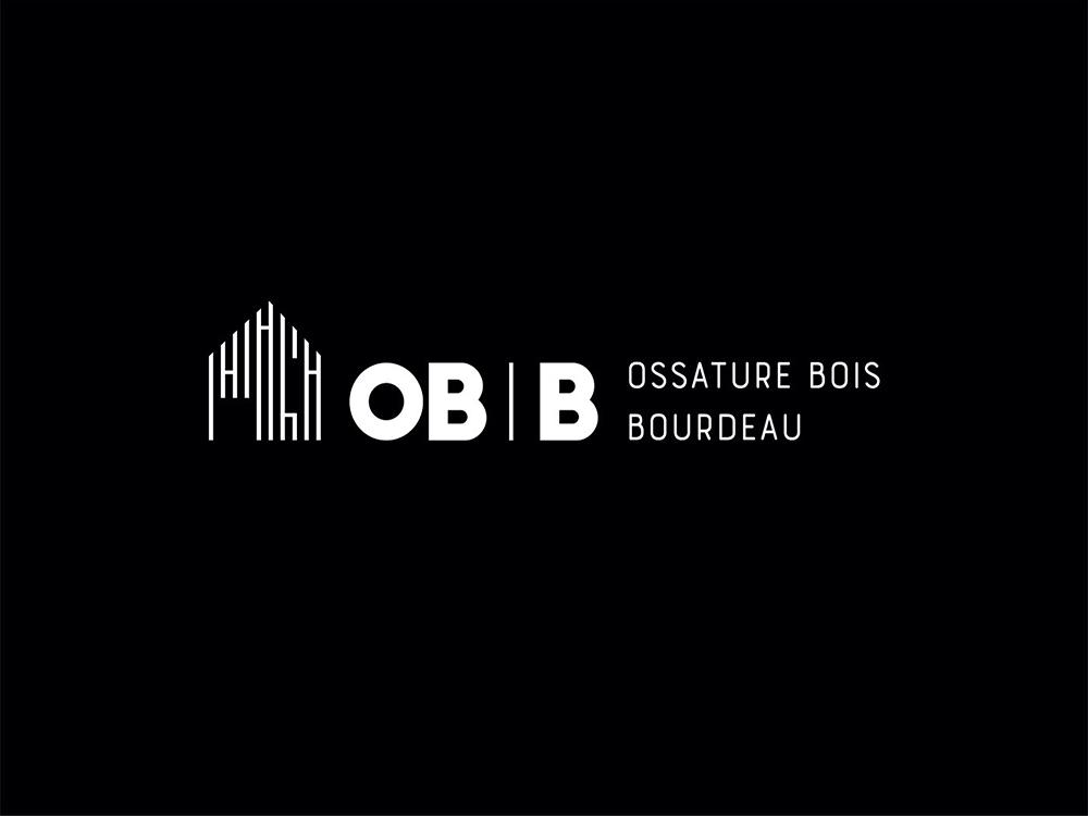 Création identite visuelle OBB Ossature Bois