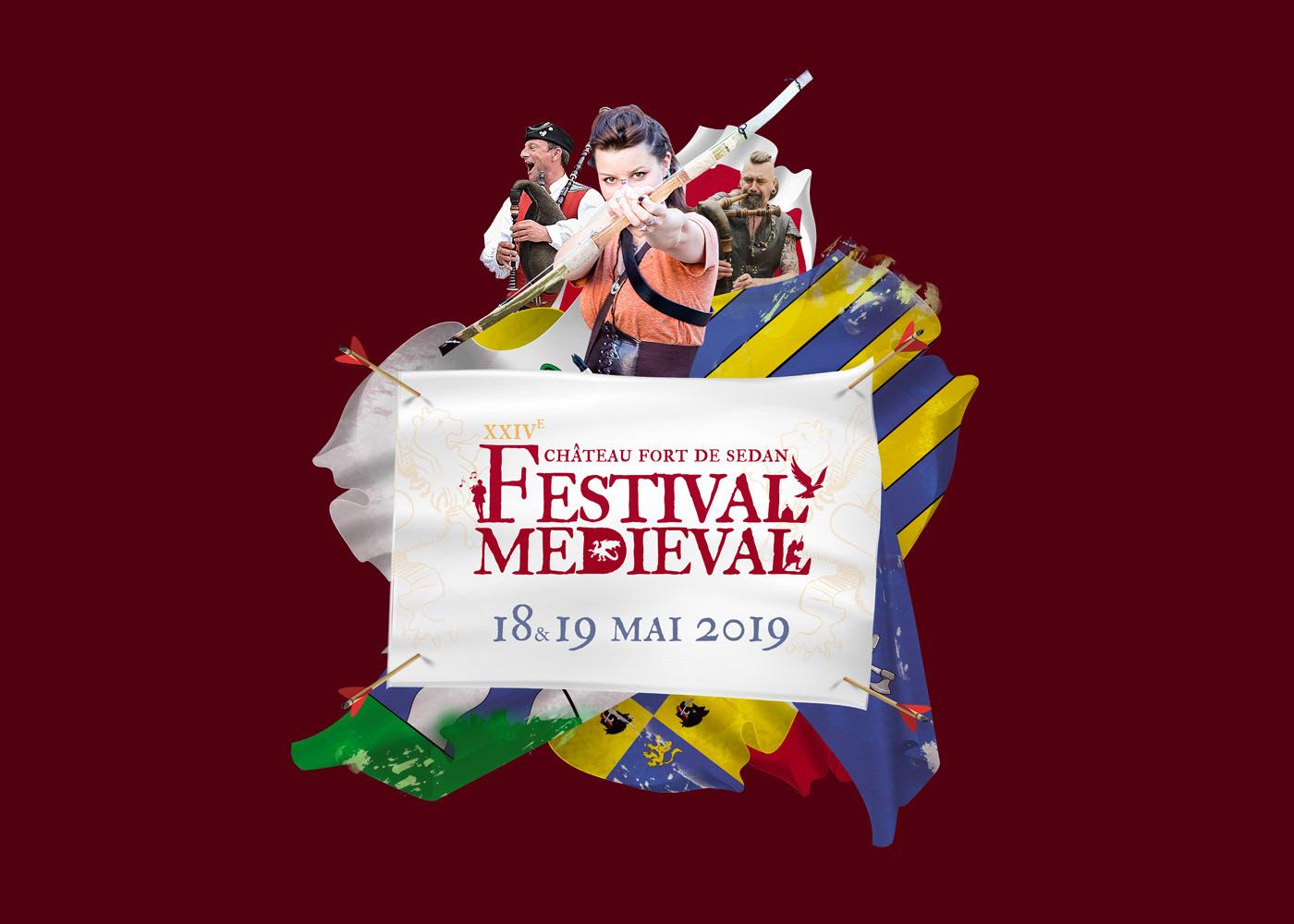 Festival mediéval Sedan affiche