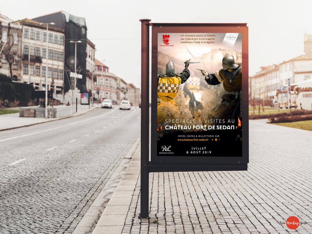 Affiche Château Sedan Animation été 2019