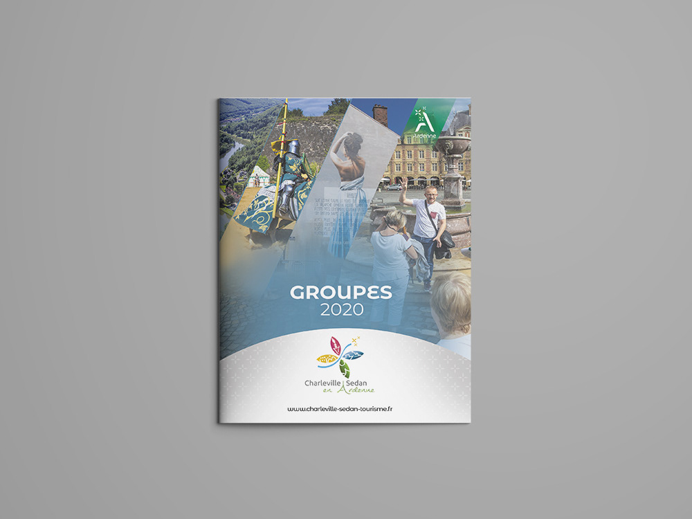 Création brochure Tourisme groupe Ardennes