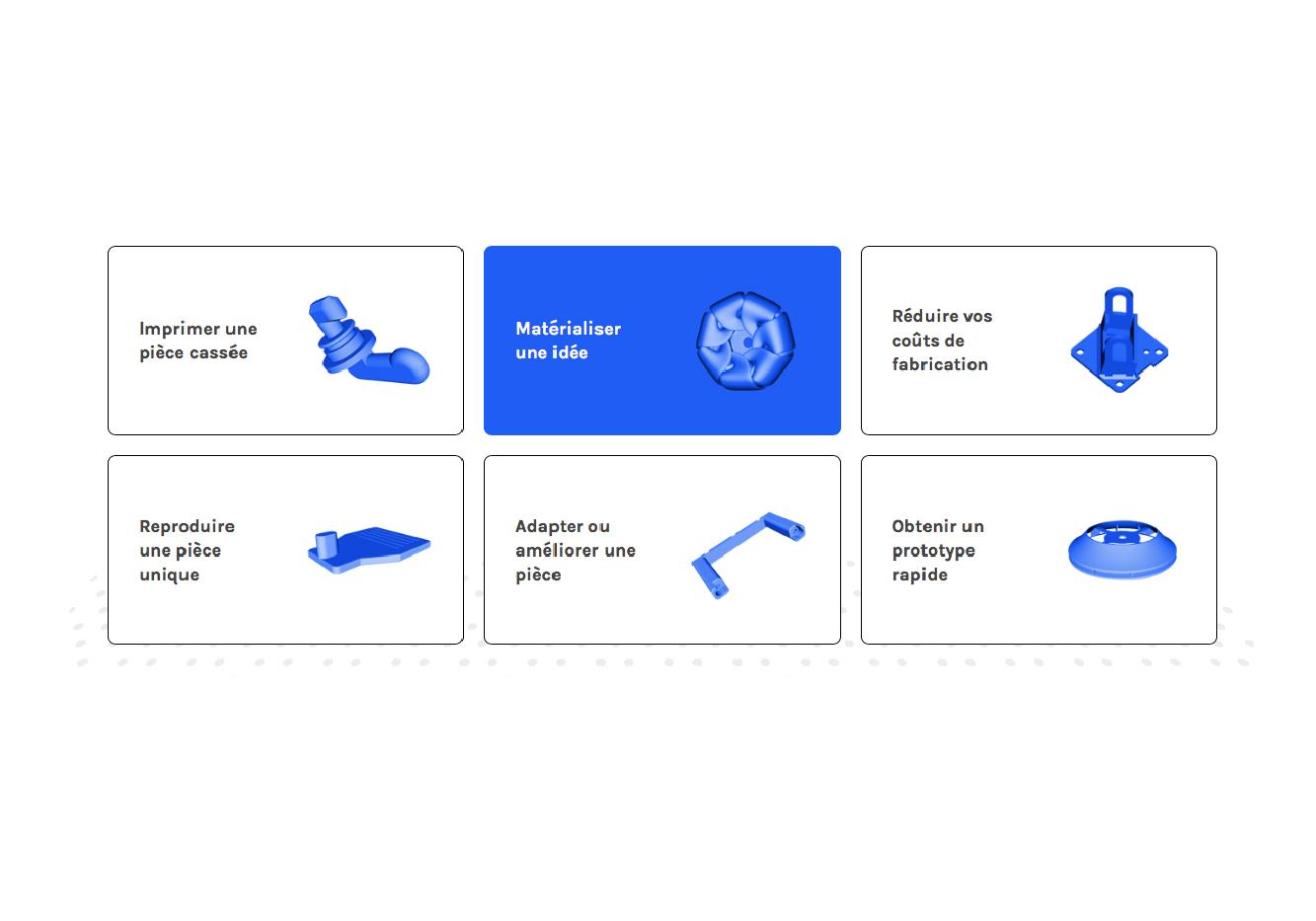 Identité visuelle Atelier cubic