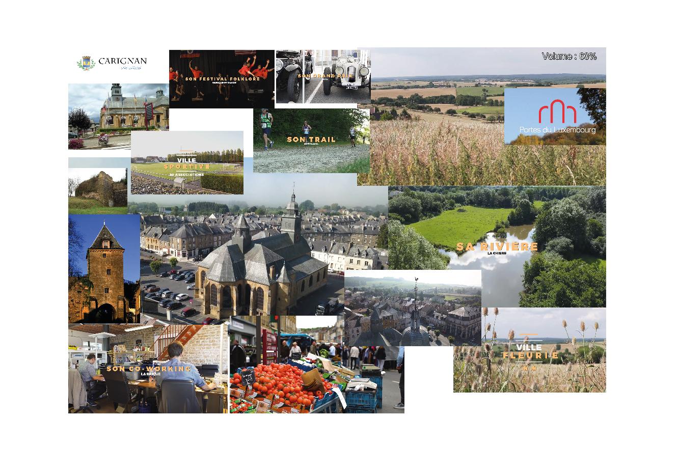 Identité visuelle Ville de Carignan - Ardennes