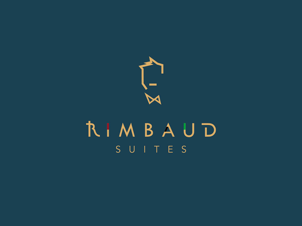 Identité visuelle Rimbaud Suites